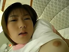 Innocent 18 years old japanese teen