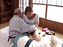 Beautiful wife and adorable old nurse 1