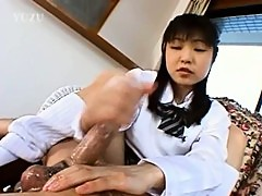 18yo girlfriend from korea gives handjob