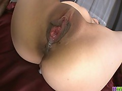 Office Teen Aiko Hirose Shave Pussy Creamed