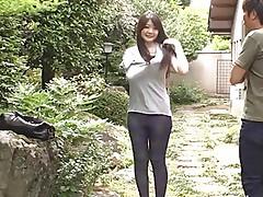 Sexy maid Rie Tachikawa