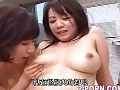 3 busty lesbians orgy party 01