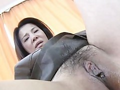 Yoko Kido Japanese Mom Bouncing Like A Cowgirl