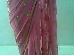 Cute Indian Desi Girl in Pink Saree Sucking and Fucking with young teen south asian boy in secretly