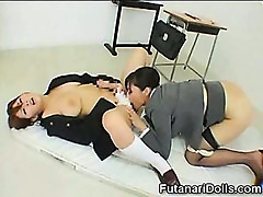 Hermaphrodite Asian Schoolgirl!