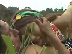 Japanese Sucks an Aboriginal Man!