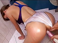 Asian fucks euro swimsuit woman 2 (censored)