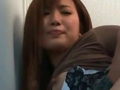 Sexy girl japanese honey nailed in public sex 8