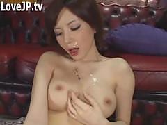 Cute Japanese Babe Cumshot Clips 389030