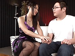 Japanese Nana Usami Using Dildos On Men