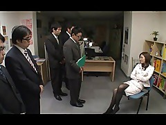 Dominant japanese office lady